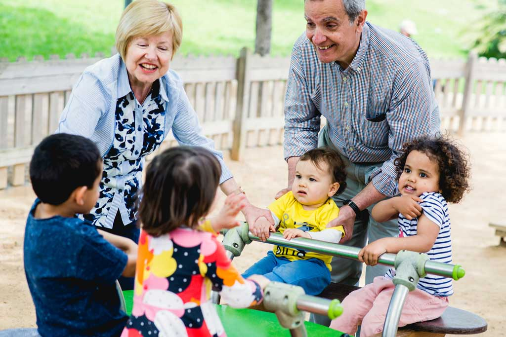 ¿Por qué no hay más sesiones de fotos con los abuelos?